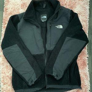 The North Face black Denali fleece women's L